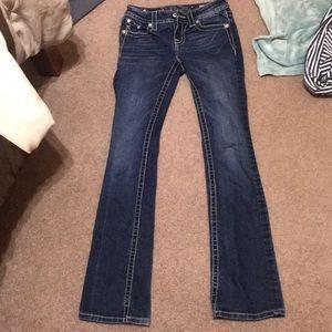 Mid rise, bootcut, MISSME jeans